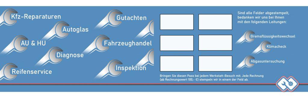 Kundenbindung, Service, Treuepass, Kaisersbach, Schmied's Garage